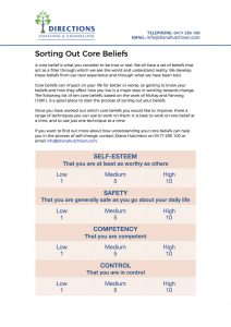 Core Beliefs and How to Understand Them